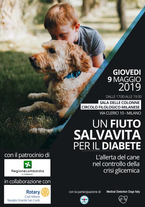 Centro Cinofilo Europeo Novate Milanese.Un Fiuto Salvavita Per Il Diabete Convegno A Milano Il